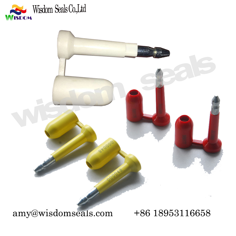WDM-BS118  Bolt seal C-TPAT certification Anti Spin High Security container indicative truck bolt seal