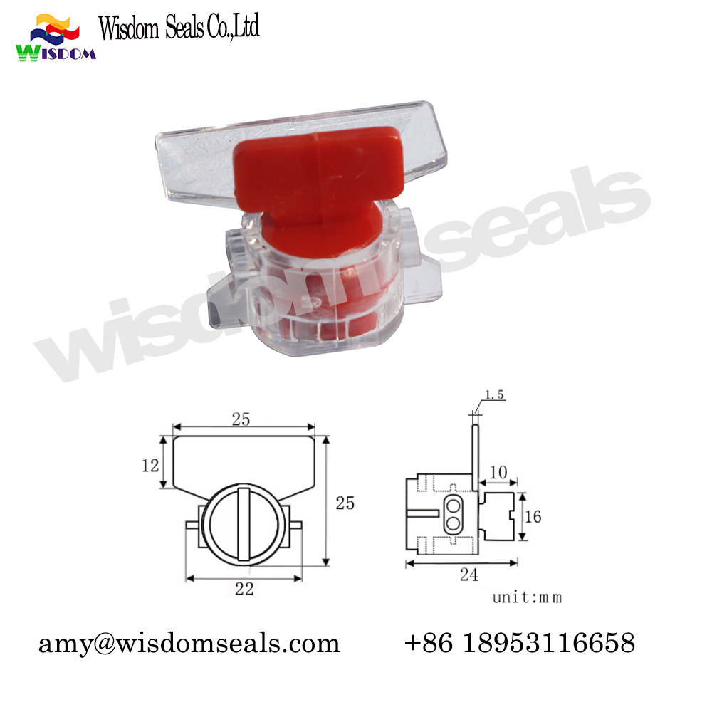WDM-MS103  electronic meter seal Adjustable electronic security water meter seal