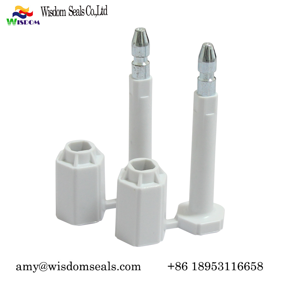 WDM-BS228 Anti Spin High Security container bolt seal  with customs barcode