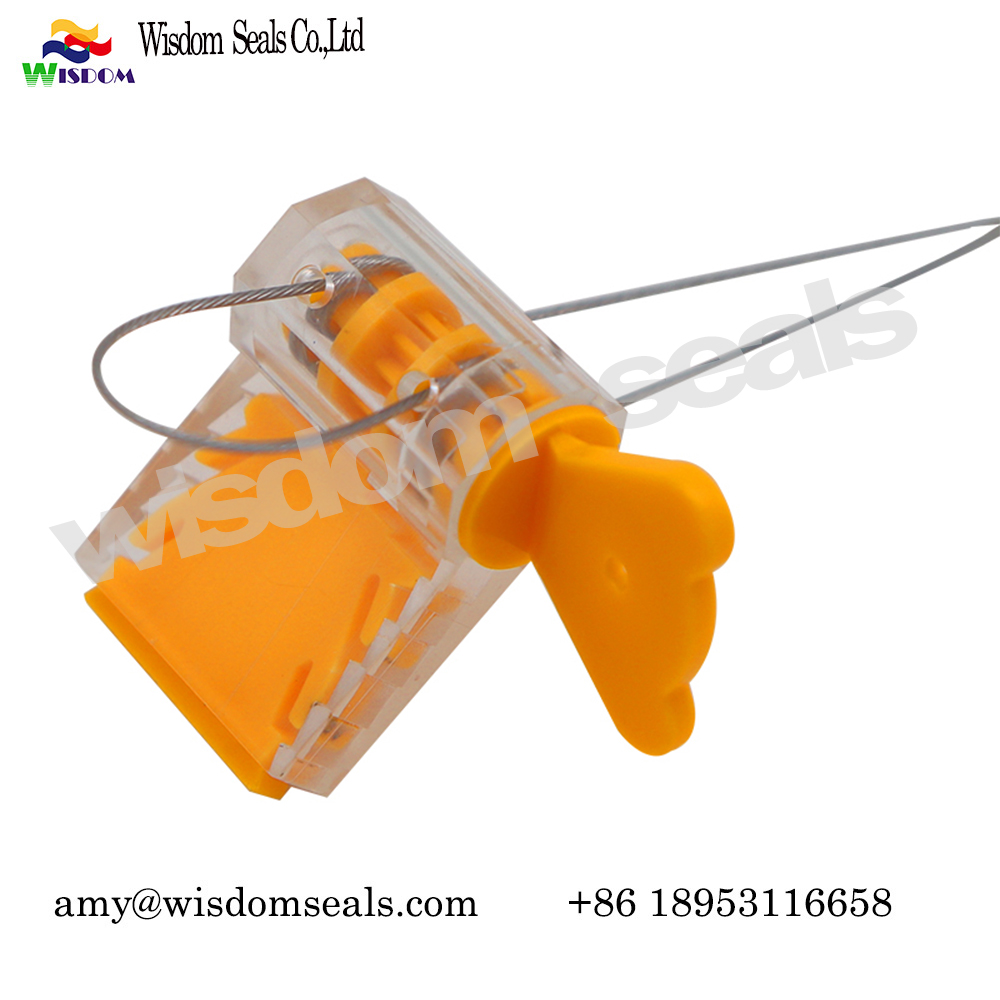 WDM-MS108 high quality  Electric Meter Security Seals Twist tight Plastic meter Seals
