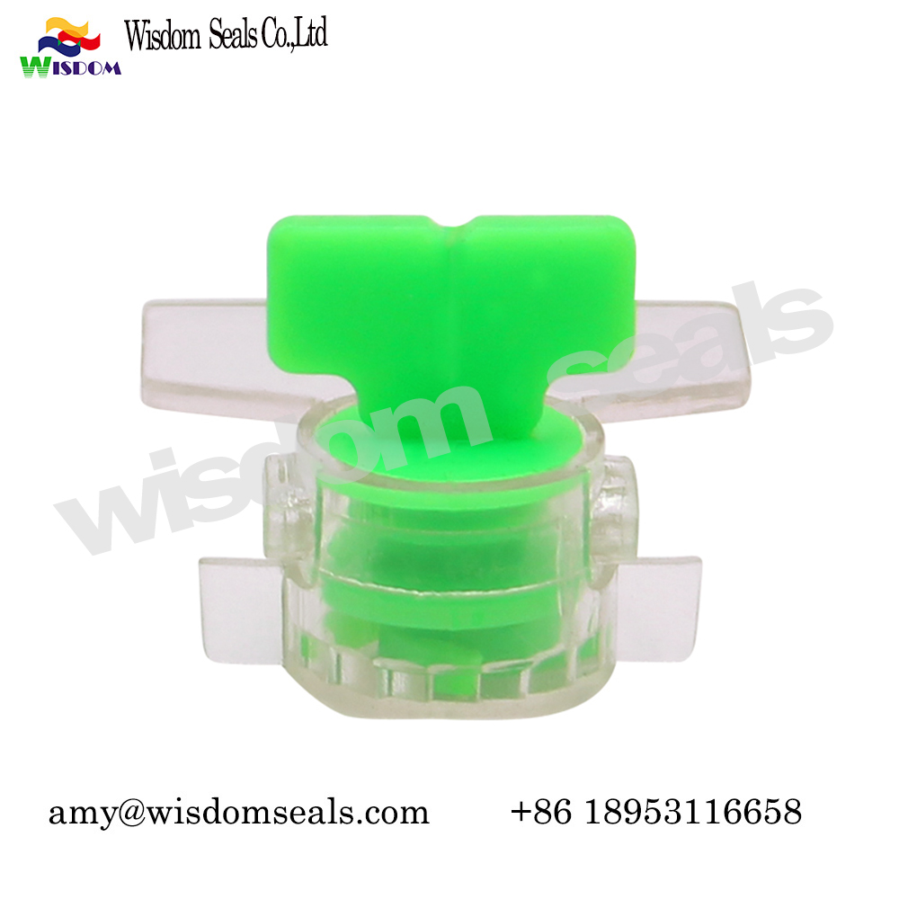 WDM-MS103  electronic twist tight  security water meter seal with logo barcode printing